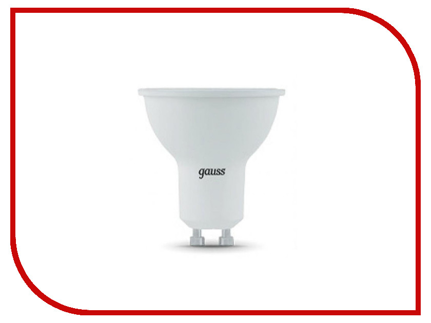 Лампочка Gauss LED 7W MR16 GU10 4100K 101506207 лампочка gauss mr16 gu5 3 5w 12v 4100k 201505205