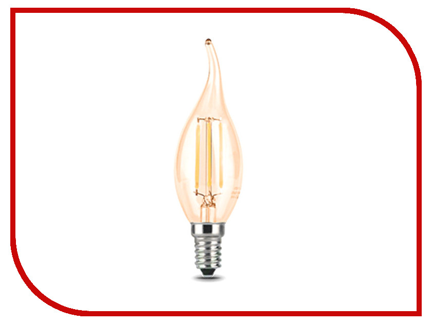 Лампочка Gauss LED 5W E14 2700K Golden 104801005 лампочка ipower premium 5w 2700k 470lm e14 ippb5w2700ke14 1001958