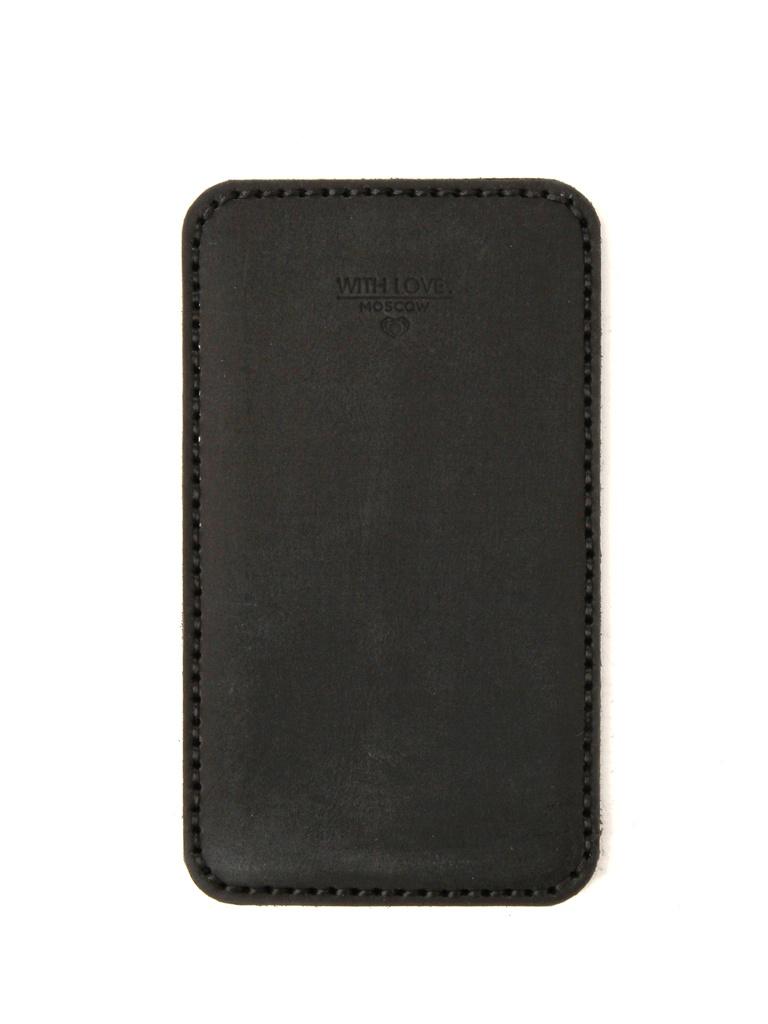 Аксессуар Чехол With Love. Moscow для Sony Xperia XA Ultra кожаный Black 10210 цена