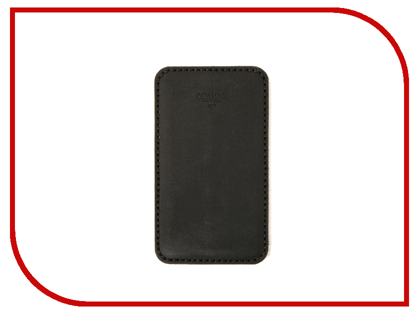 Аксессуар Чехол With Love. Moscow для Sony Xperia XA1 кожаный Black 10211