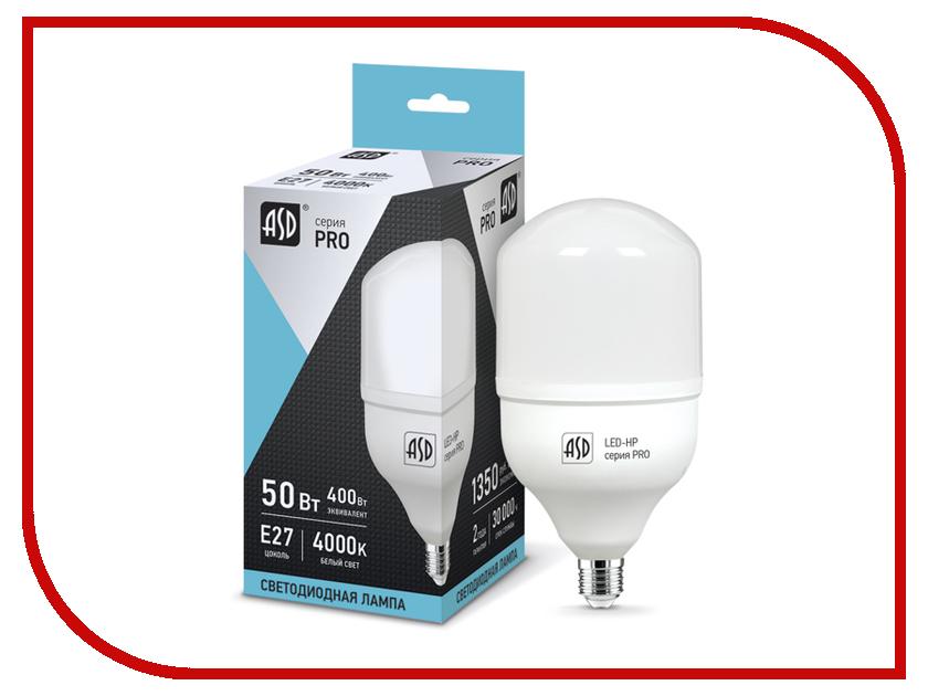 Лампочка ASD LED-HP-PRO 50W 230V E27-E40 6500K 4500Lm 4690612011967