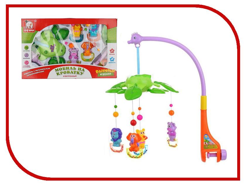 Музыкальный мобиль S+S toys Джунгли 100857119