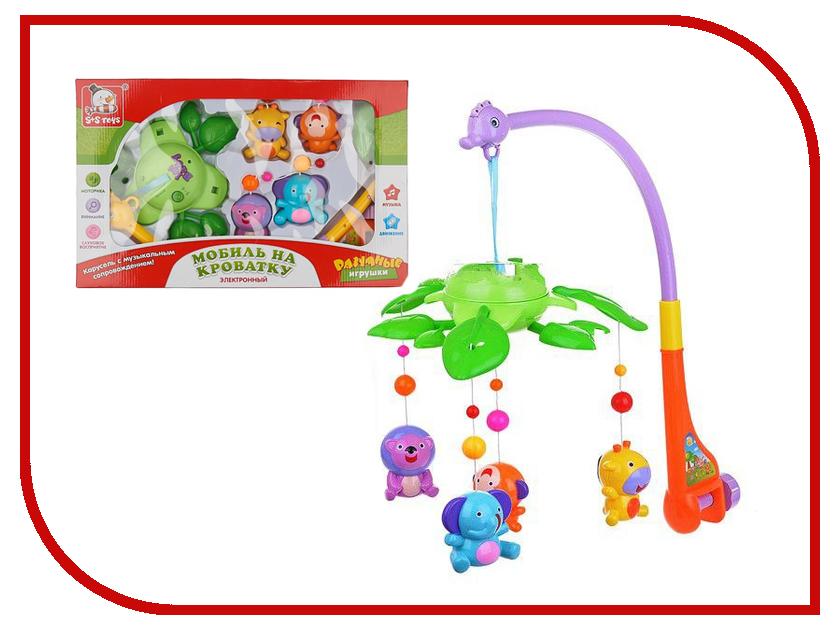 Музыкальный мобиль S+S toys Лес 100857124 музыкальный мобиль biba toys друзья бюсси gd159