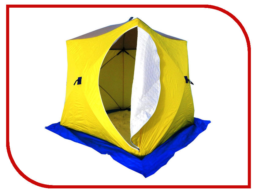 Палатка Стэк КУБ-3 трехслойная