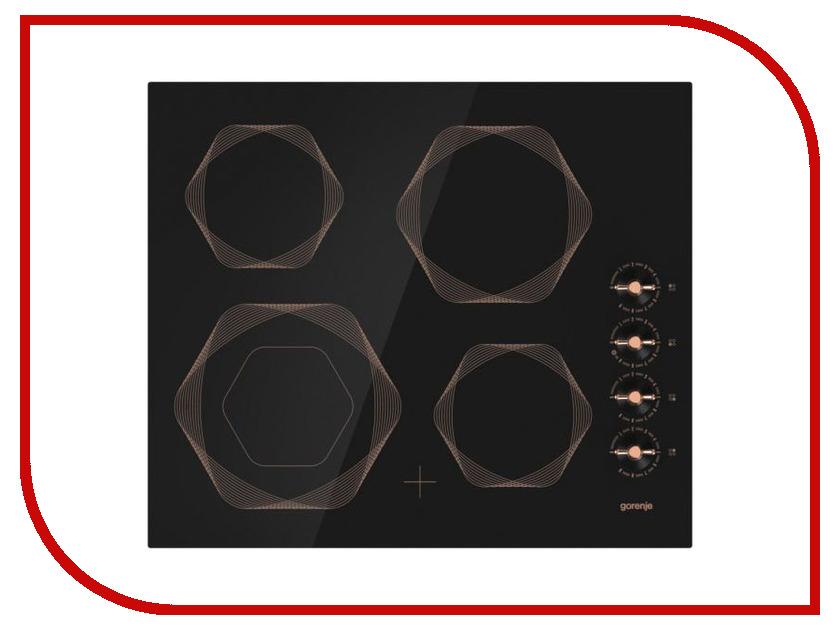 плита электрическая gorenje ec 537 inb black Варочная панель Gorenje EC6INB