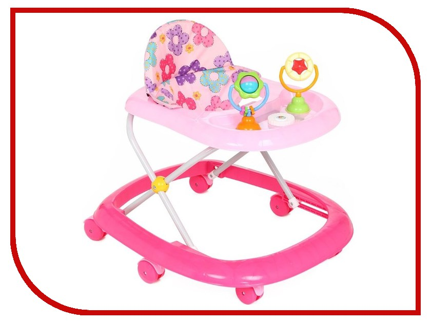 Ходунки Kids-Glory FL-619 Pink