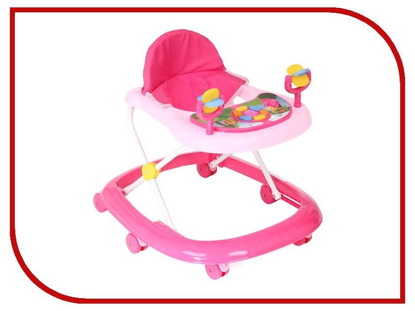 Ходунки Kids-Glory FL-616 NEW Pink