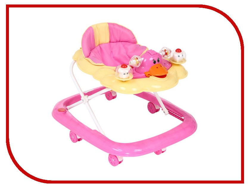 все цены на  Ходунки Kids-Glory SBL5301W Pink  онлайн