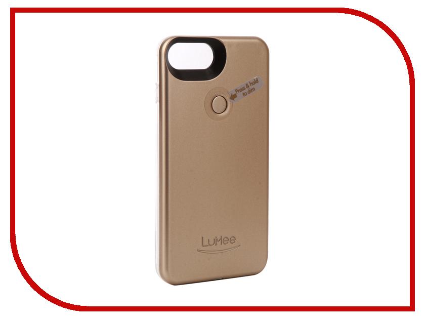 Аксессуар Чехол LuMee TWO для APPLE iPhone 7 Plus Gold matte L2-IP7PLUS-GOLDMT
