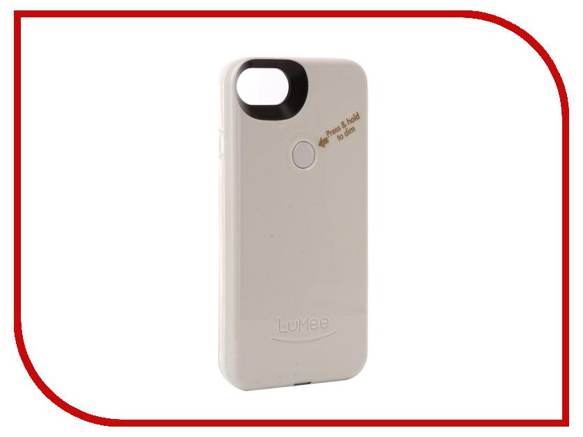 Аксессуар Чехол LuMee TWO для APPLE iPhone 7 White glossy L2-IP7-WHTGLS