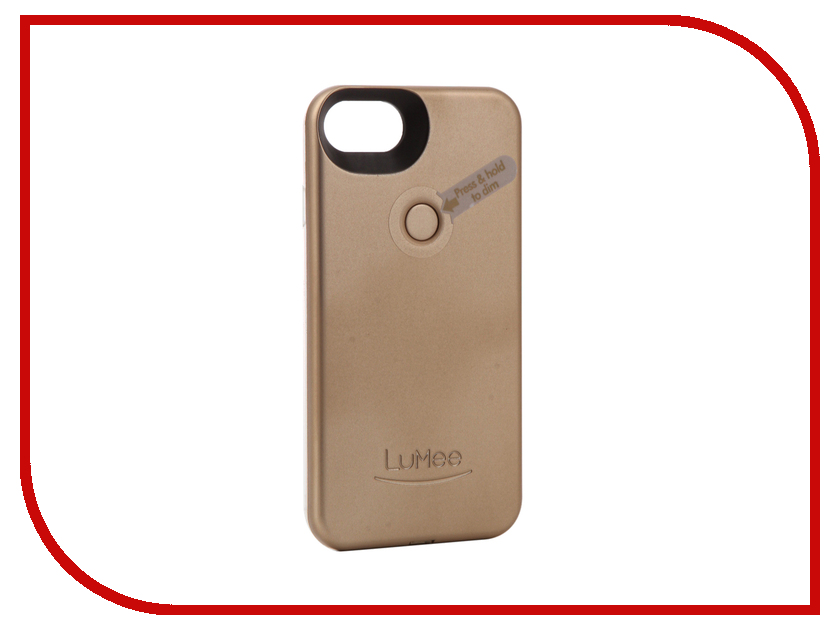 Аксессуар Чехол LuMee TWO для APPLE iPhone 7 Gold matte L2-IP7-GOLDMT кеды gazelle uniora white goldmt