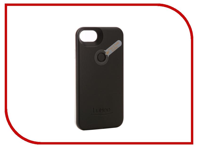 Аксессуар Чехол LuMee TWO для APPLE iPhone 7 Black L2-IP7-BLK аксессуар чехол lenovo k10 vibe c2 k10a40 zibelino classico black zcl len k10a40 blk