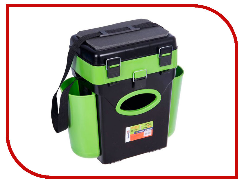 Ящик Helios FishBox 10L Green