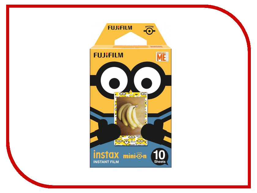 FujiFilm Colorfilm Instax Mini Minion DMF 16555198 fujifilm instax mini 70