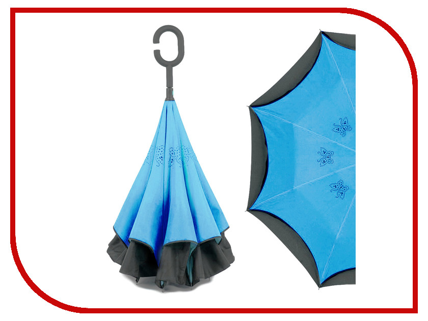 Зонт Зонт Наоборот Butterfly Blue