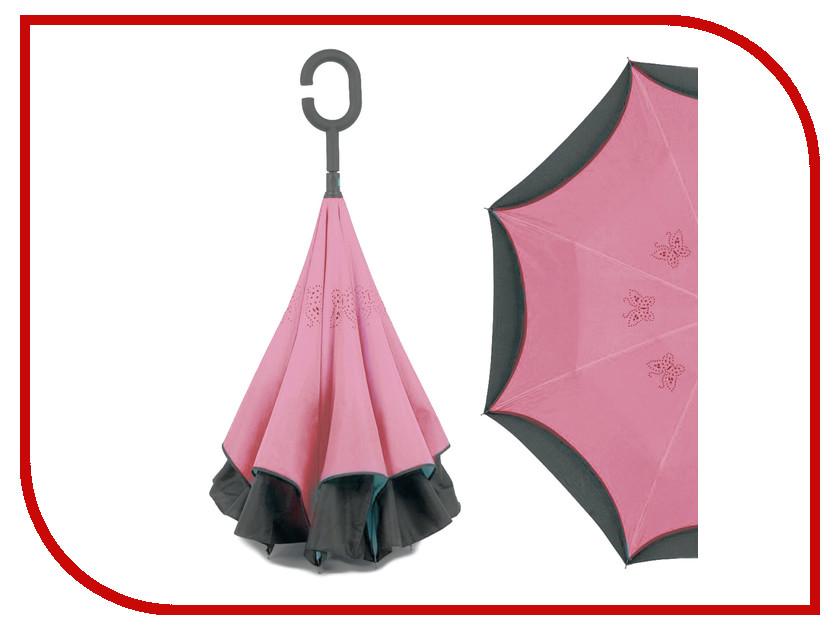 Зонт Зонт Наоборот Butterfly Pink