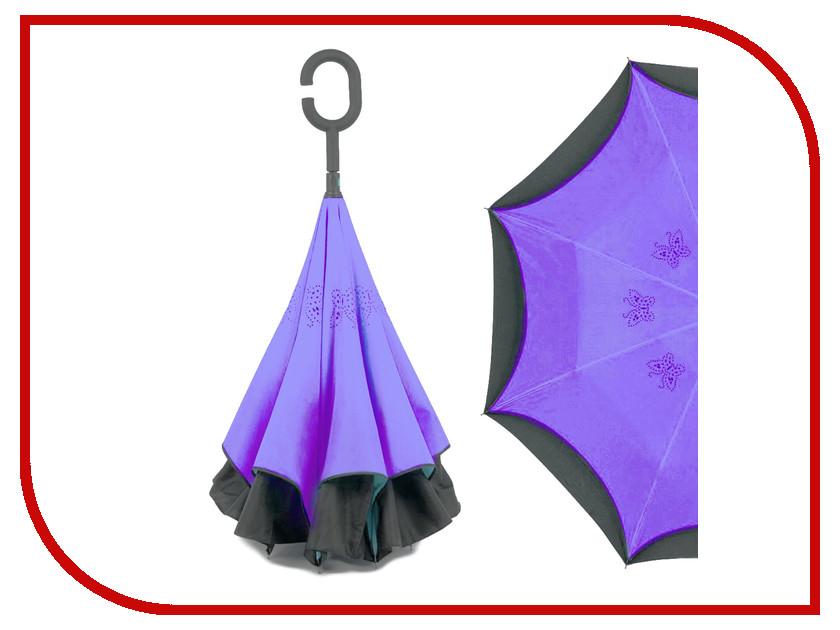 Зонт Зонт Наоборот Butterfly Purple