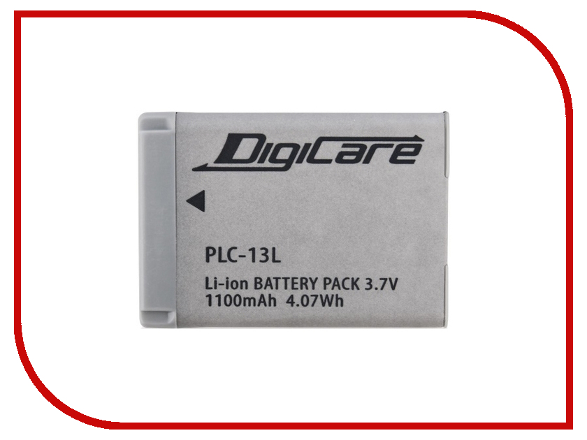 Аккумулятор DigiCare PLC-13L for G5 / G7x / G9x / SX620 / SX720