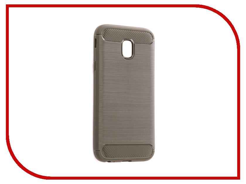 Аксессуар Чехол Samsung SM-J330F Galaxy J3 2017 Zibelino Cover Back Elegant Grey ZCBE-SAM-J330F-GRY