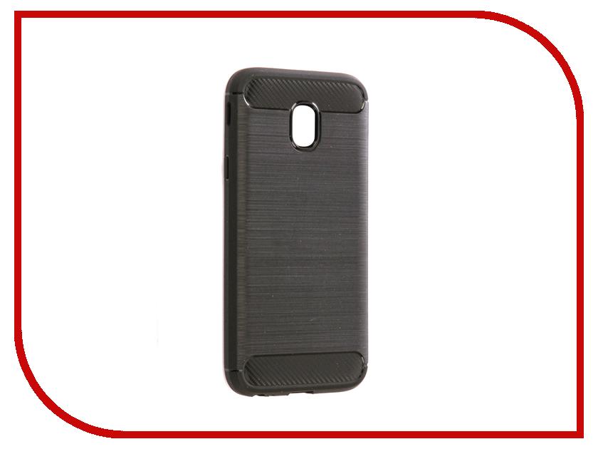 Фото Аксессуар Чехол Samsung SM-J330F Galaxy J3 2017 Zibelino Cover Back Elegant Black ZCBE-SAM-J330F-BLK аксессуар чехол samsung j3 2017 j330f zibelino clear view black zcv sam j330 blk