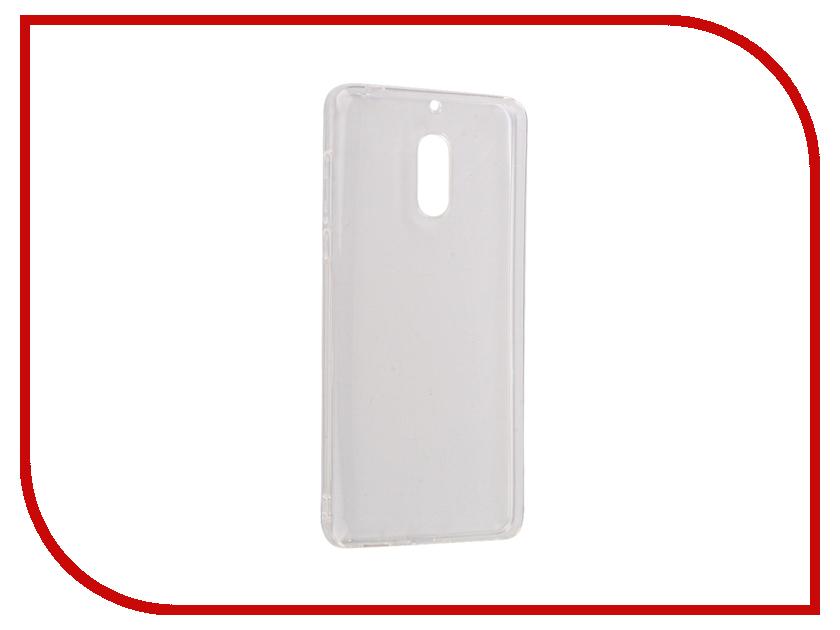 Аксессуар Чехол Nokia 6 Zibelino Ultra Thin Case White ZUTC-NOK-6-WHT