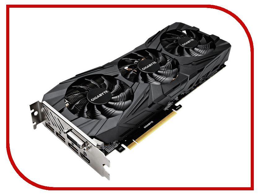Видеокарта GigaByte GeForce GTX 1080 Ti 1518Mhz PCI-E 3.0 11264Mb 11010Mhz 352 bit DVI HDMI DP HDCP GV-N108TGAMINGOC BLACK-11GD микрофон dialog м 108 black м 108 black