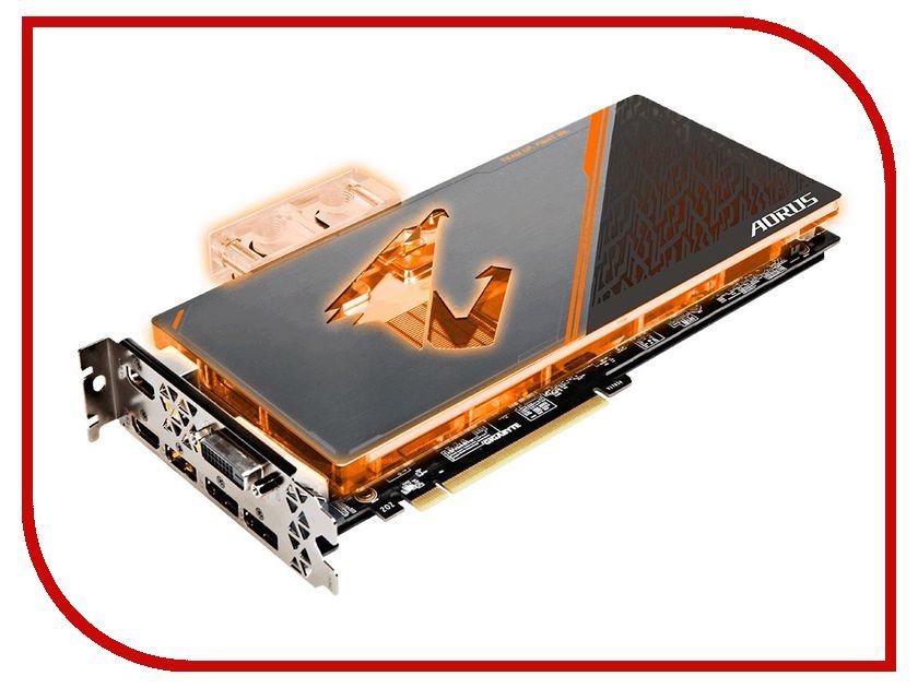 Видеокарта GigaByte GeForce GTX 1080 Ti 1607Mhz PCI-E 3.0 11264Mb 11232Mhz 352 bit DVI 3xHDMI 3xDP HDCP AORUS Waterforce WB Xtreme Edition 11G GV-N108TAORUSX WB-11GD gv n1070g1 gaming 8gd gigabyte