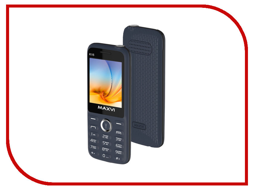 Сотовый телефон Maxvi K15 Grey