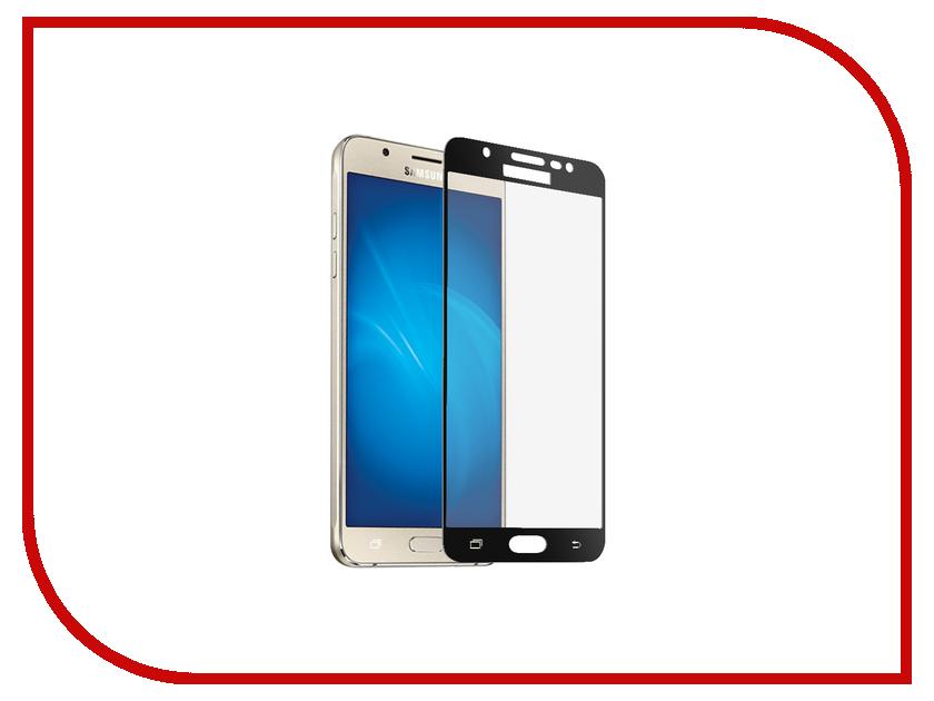 Аксессуар Защитное стекло 2.5D Samsung Galaxy J7 2017 InterStep IS-TG-SAMGJ72BL Black 000B202 защитное стекло interstep для nokia 5 black is tg nokia5fsb 000b201