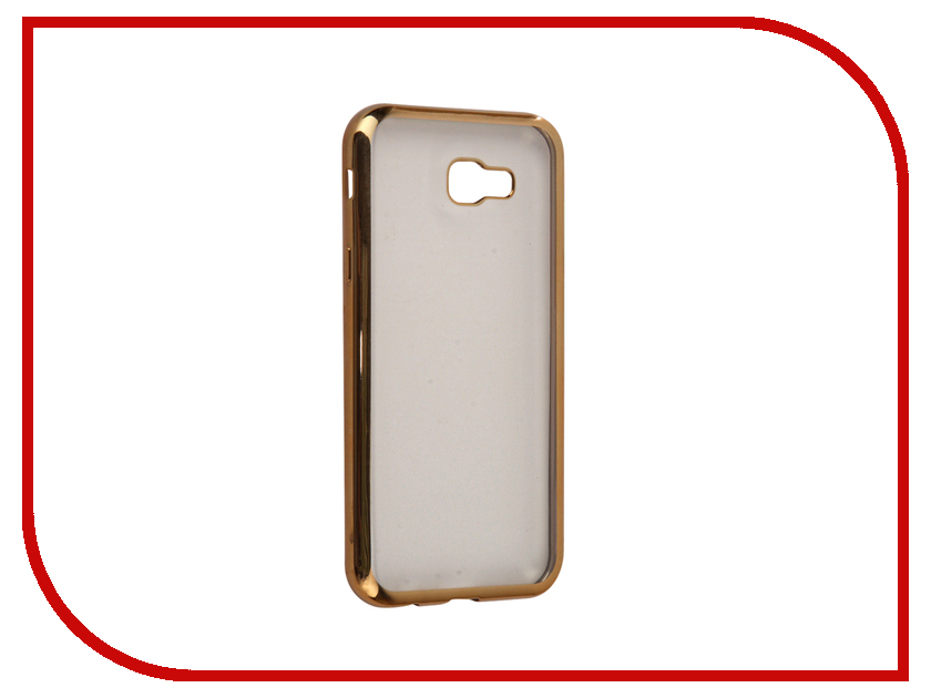 Аксессуар Чехол Samsung Galaxy A7 2017 InterStep Is Frame Gold HFR-SAGA717K-NP1116O K100 чехол для iphone interstep для iphone 7 титан hfr apiph07k np1119o k100