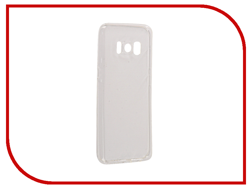 Аксессуар Чехол Samsung Galaxy S8 InterStep Is Slender Transparent HSD-SAGALS8K-NP1100O-K100 interstep folk case для samsung galaxy s8 black