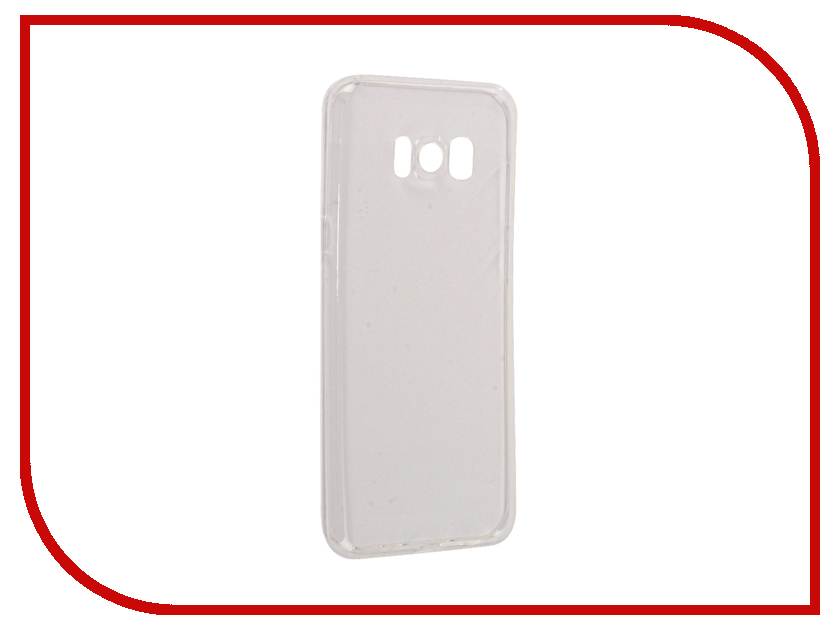 Аксессуар Чехол Samsung Galaxy S8+ InterStep Is Slender Transparent HSD-SAGAS8PK-NP1100O-K100 аксессуар чехол lg x style interstep is slender transparent hsd lg000xsk np1101o k100