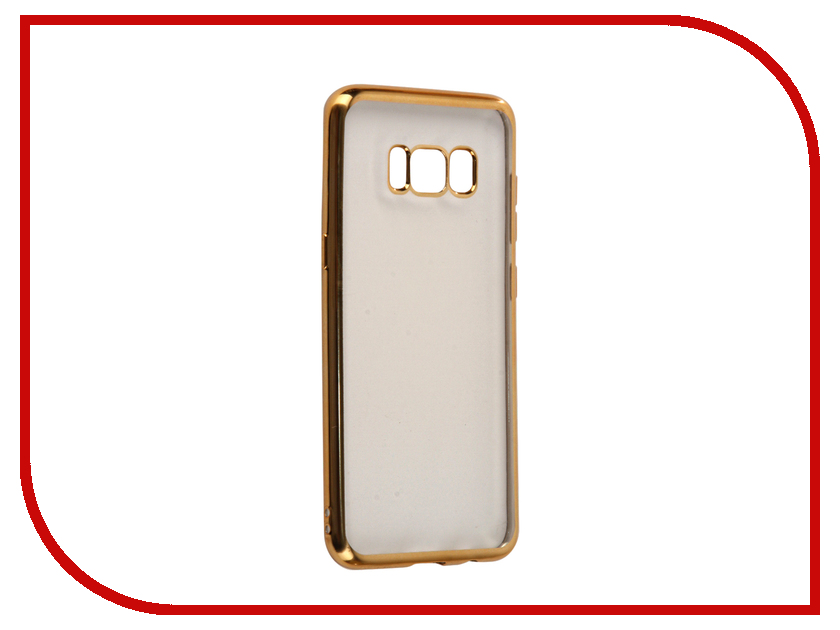 Аксессуар Чехол Samsung Galaxy S8 InterStep Is Frame Gold HFR-SAGALS8K-NP1116O-K100 чехол для iphone interstep для iphone 7 титан hfr apiph07k np1119o k100