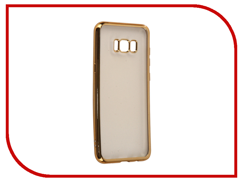 Аксессуар Чехол Samsung Galaxy S8+ InterStep Is Frame Gold HFR-SAGAS8PK-NP1116O-K100 чехол для iphone interstep для iphone 7 титан hfr apiph07k np1119o k100