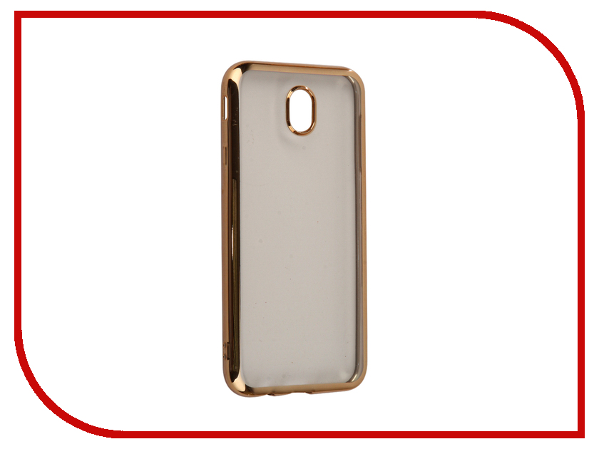 Аксессуар Чехол Samsung Galaxy J7 2017 InterStep Is Frame Gold HFR-SAGJ717K-NP1116O-K100 чехол для iphone interstep для iphone 7 титан hfr apiph07k np1119o k100