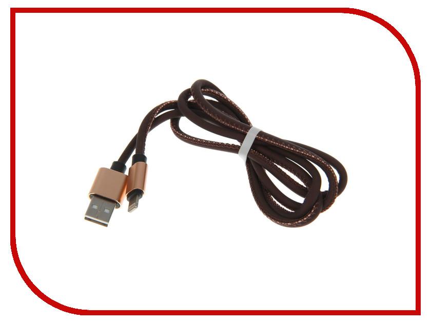 Аксессуар Luazon USB - Lightning Black-Orange 2541705