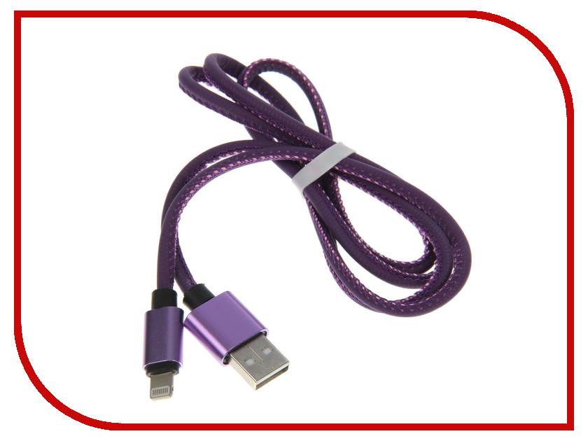 Аксессуар Luazon USB - Lightning Purple-Rose 2541704