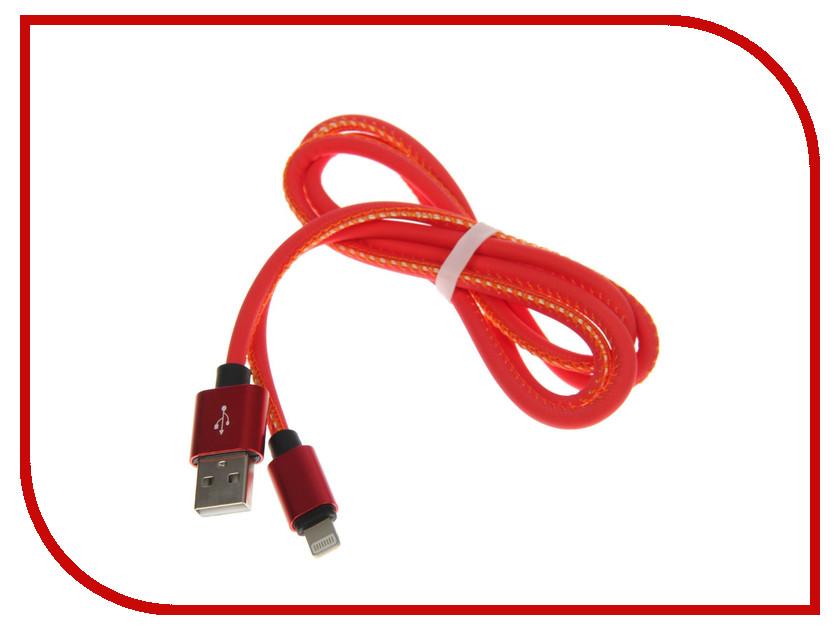 Аксессуар Luazon USB - Lightning Red-Yellow 2541702