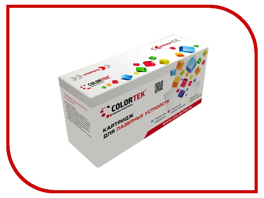 Картридж Colortek Black для Phaser-3140/Phaser-3155/Phaser-3160 картридж cactus cs ph3140x для xerox phaser 3140 3155 3160 чёрный 2500страниц 108r00909