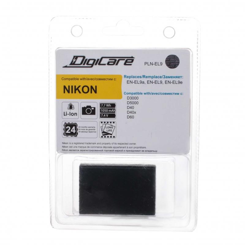 Аккумулятор DigiCare PLN-EL9 для Nikon