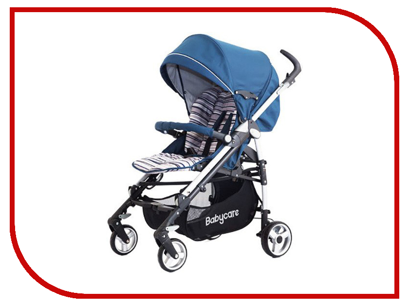 Коляска Baby Care GT4 Light Blue baby care hola mb103f light grey blue