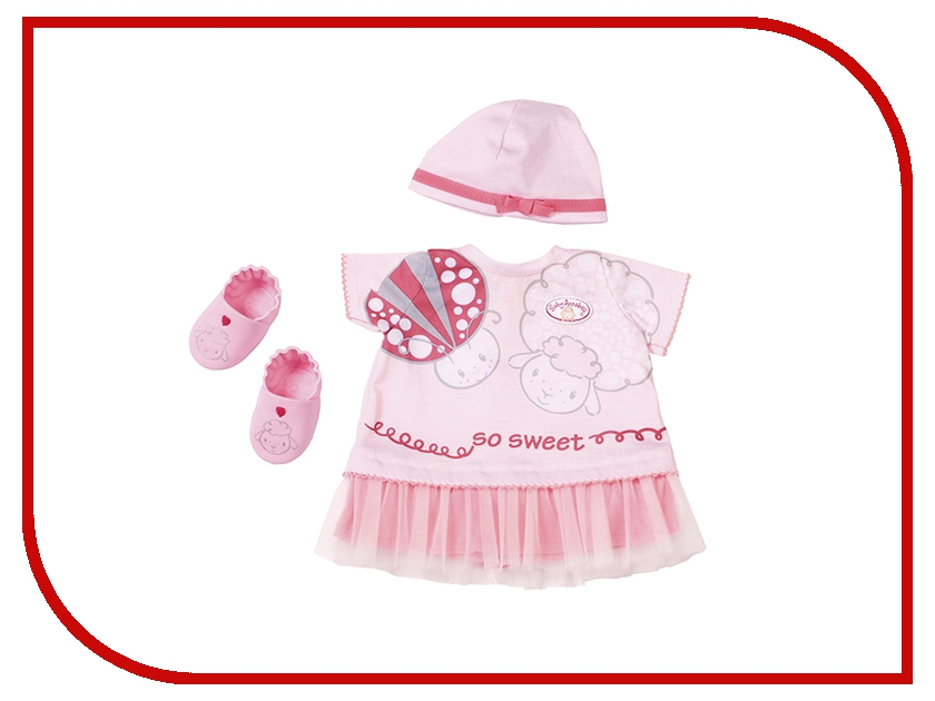 Одежда для куклы Zapf Creation Baby Annabell  тёплых деньков Brown 700-198