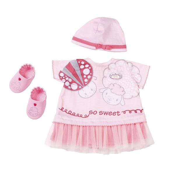 Одежда для куклы Zapf Creation Baby Annabell Для тёплых деньков Brown 700-198