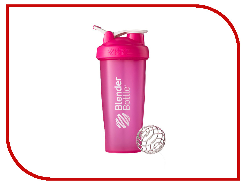 Шейкер BlenderBottle Classic Full Color 828ml Pink BB-CL28-FPIN