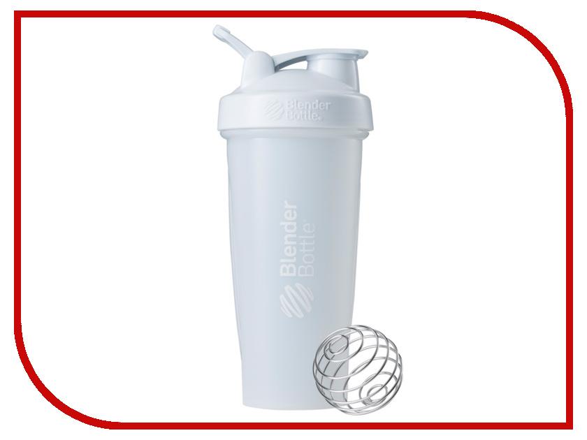 Шейкер BlenderBottle Classic Full Color 828ml White BB-CL28-FWHI шейкер blenderbottle prostak full color white bb prsk fwhi