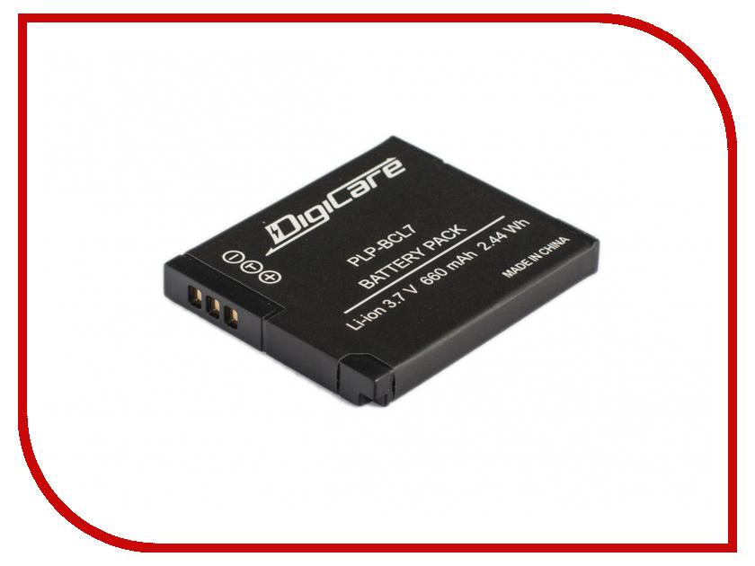 Аккумулятор DigiCare PLP-BCL7 тушь для ресниц bcl bcl bc003lwwfy49