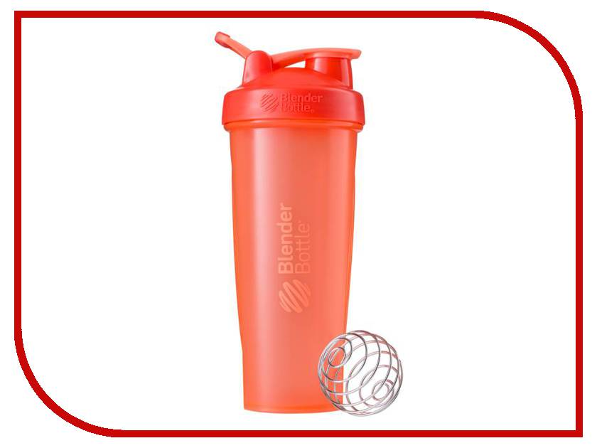 Шейкер BlenderBottle Classic Full Color 946ml Coral BB-CL32-FCOR