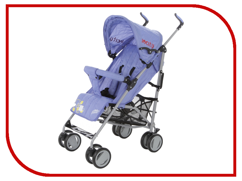 Коляска Baby Care In City Violet коляска baby care baby care коляска для двойни tandem grey red