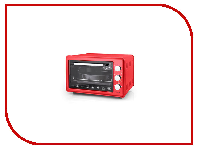 Мини печь Greys RMR-4001 Red greys qe 005