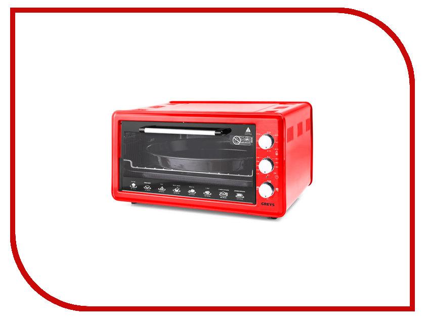 цена на Мини печь Greys RMR-4007 Red